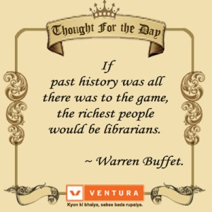 Quote on Past History
