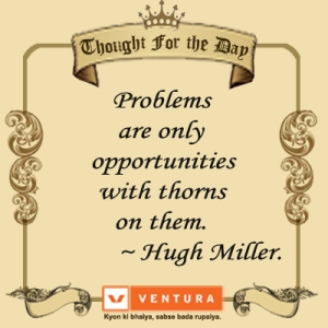 Quote on Problems